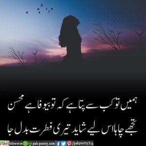 urdu sad poetry, urdu poetry