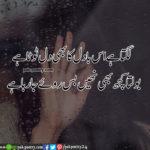 Sad Poetry - lgta hy is badel ka bee dill tota hy