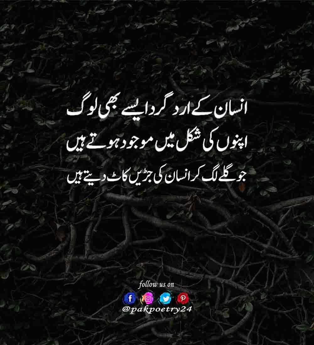 reality poetry urdu